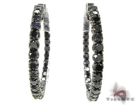 Black Diamond Hoops Style