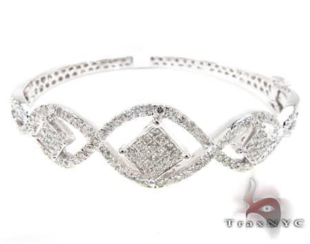 WG Florentino Bangle 2 Diamond