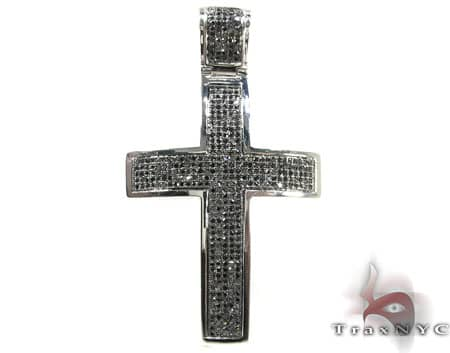 WG Fury Cross Mens Diamond Cross