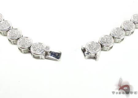 Micropave Diamond Chain 32 Inches 8mm 68.30 Grams Diamond