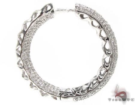 WG Fiji Hoop Earrings 2 Stone