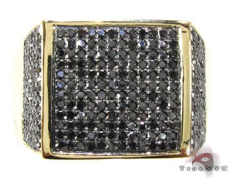 YG Black Diamond Fury Ring Stone