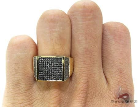 YG Black Diamond Fury Ring Stone