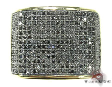 YG Black Wrap Ring Stone