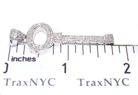Allure Key Diamond Pendant Stone