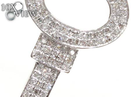 Allure Key Diamond Pendant Stone