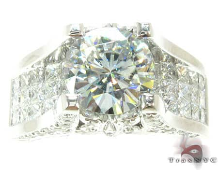 Luxe Side Butterfly Ring Engagement
