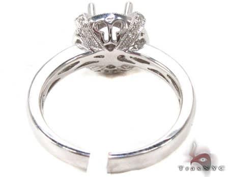 Alpine Semi Mount Ring Engagement