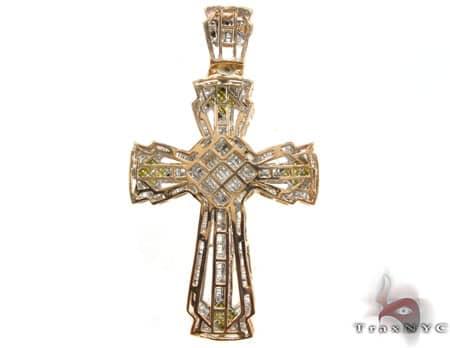 Canary Knight Cross Diamond
