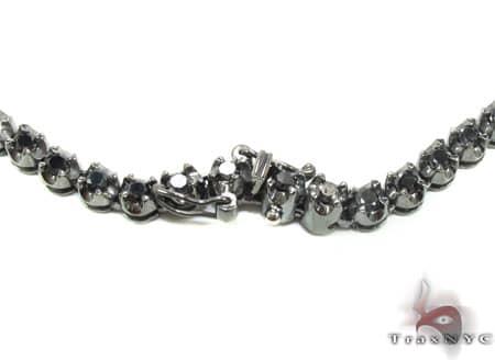 Black Diamond Chain 34 Inches, 67 Grams Diamond