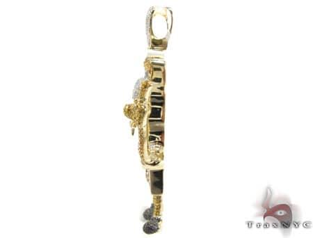 Custom Jewelry - Sponge Bob Pendant Metal