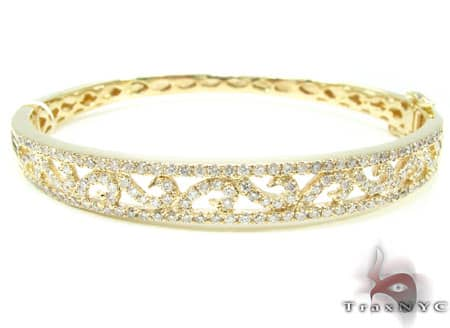 YG Azores Bangle 2 Diamond