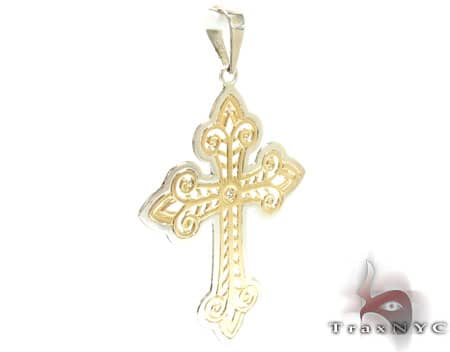 Large Flat Ciaro Cross Diamond