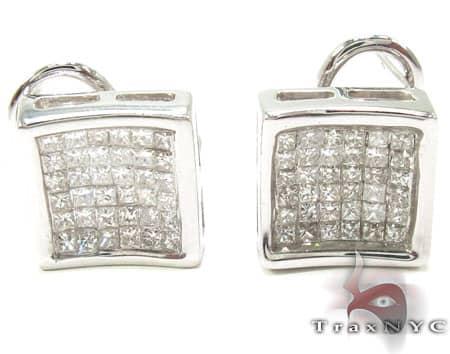 Invisible Curve Earrings Diamond Earrings For Women