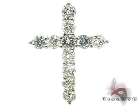 Cougar Diamond Cross Stone