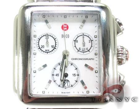 Michele Deco 3 Link Bracelet Watch MWW06A000457 Michele