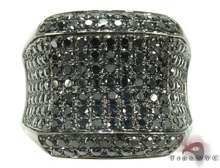 Black Night Ring Stone