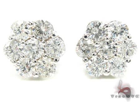 VS Cluster Earrings Stone