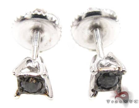 White Gold Kingdom Earrings 3 Stone
