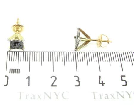 Yellow Gold Kingdom Earrings Stone