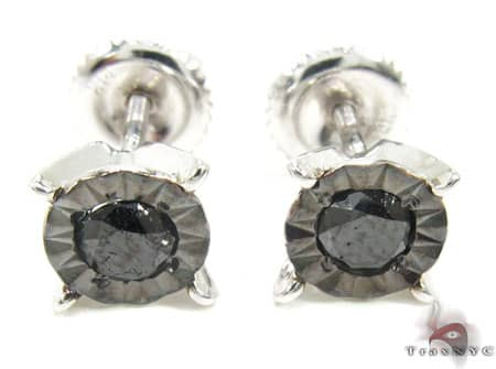 White Gold Kingdom Earrings 6 Stone
