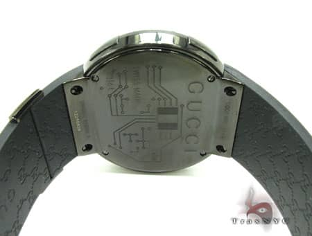 Canary & Black Diamond Digital Gucci Watch Gucci