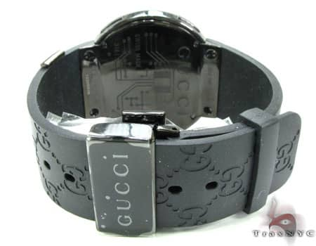 Canary & Black Diamond Digital Gucci Watch Gucci
