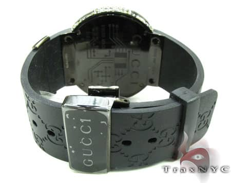 Canary & Black Diamond Digital Gucci Watch 2 Gucci
