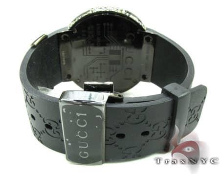 Canary & Black Diamond Digital Gucci Watch 2 Gucci