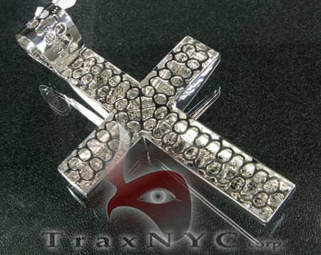 XL Pave Cross Diamond