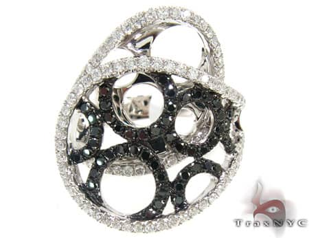 Black Circles Ring Anniversary/Fashion