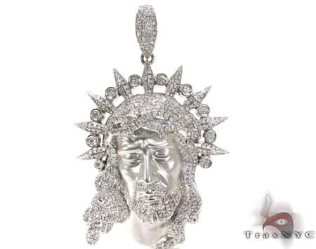 Jesus Head Pendant Metal