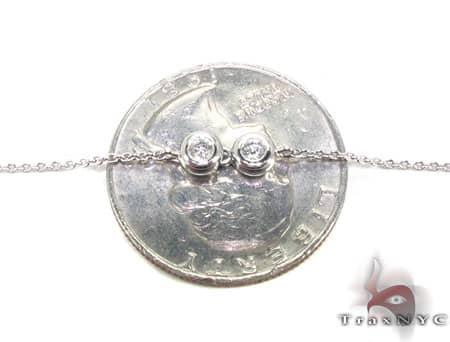Bezel Necklace Diamond