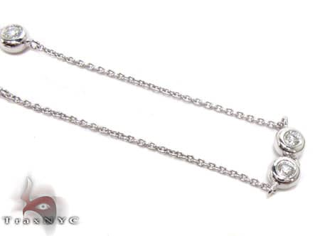 Bezel Necklace Diamond