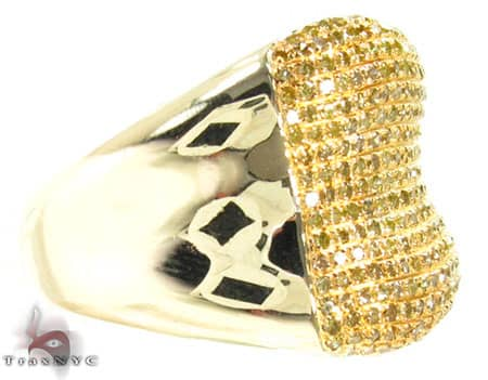 Canary Bone Ring Stone