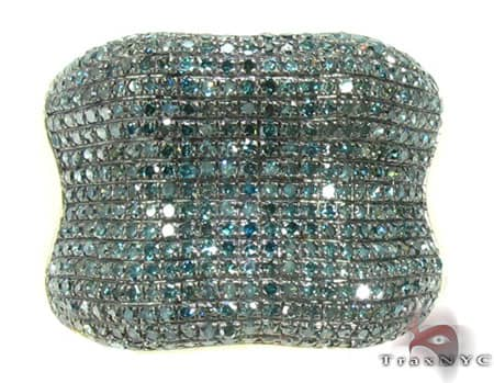Blue Diamond Bone Ring Stone