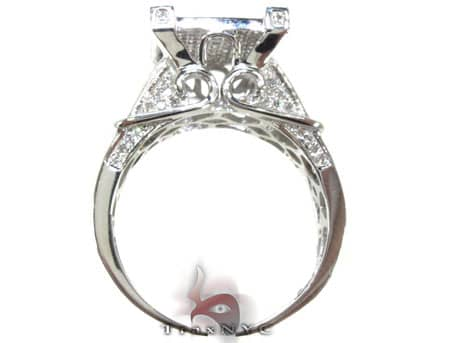 Pave Bonnet Ring Engagement