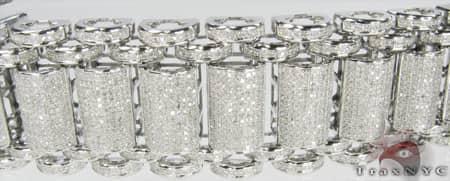 Pave Bubble Bracelet Diamond