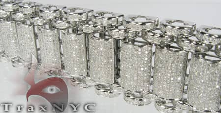 Pave Bubble Bracelet Diamond