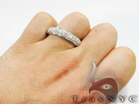 Mens Diamond Wedding Ring Stone