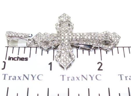 White Gold Wonder Cross Diamond