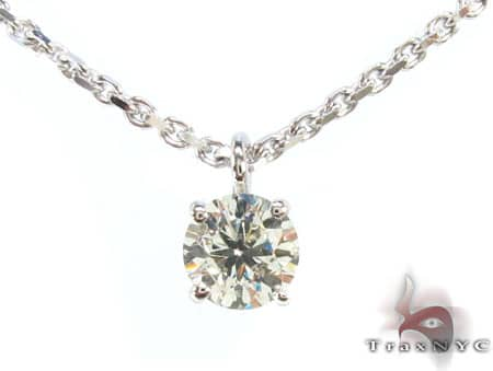 Solitaire Diamond Necklace Diamond