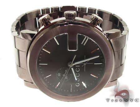 Dark Chocolate 101G-Gucci Watch YA101341 Gucci