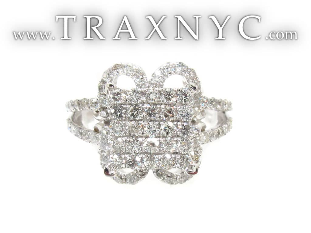 Wall of Diamonds Ring