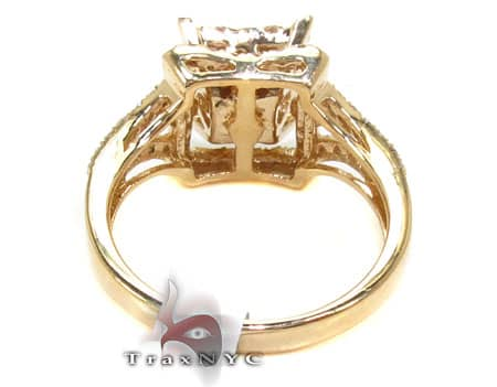 Yellow Gold Aruba Ring Anniversary/Fashion