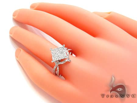 White Gold Barbados Ring Anniversary/Fashion