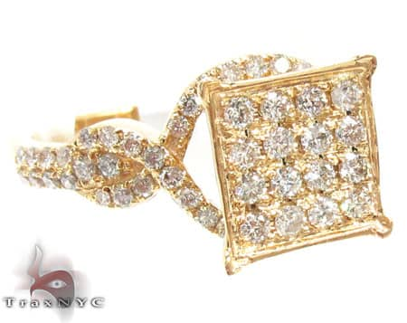 Yellow Gold Havana Ring Womens Diamond Rings