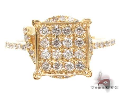 Yellow Gold Guatemala Ring 1 Anniversary/Fashion