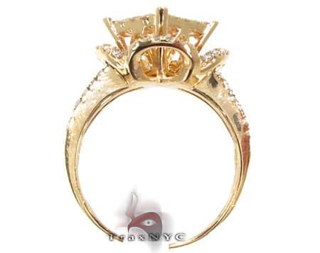 Yellow Gold Barbados Ring 2 Anniversary/Fashion