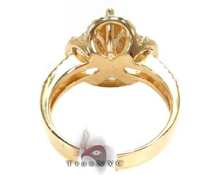 Yellow Gold Barbados Ring 2 Anniversary/Fashion